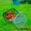 Outdoor Food Container Silicone Plastic Outdoor Storage Box