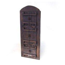 """Wood carved picture frames, teak, 3 windows, for 4*6"""""""