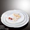 Nice shape hotel&restaurant round plain white porcelain soup plates, salad plates, pasta plates