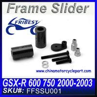 For Suzuki GSX-R 600 GSXR 750 2000-2003 No Cut Frame Sliders Motorcycle Frame Slider FFSSU001