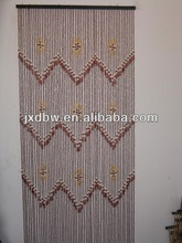 Handmade Wood Bead Decorative Curtain For Living Room