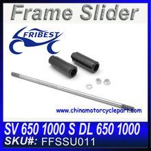 For Suzuki SV 650 1000 S DL 650 1000 No Cut Frame Sliders Motorcycle Frame Slider FFSSU011