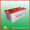 CBB low maintenance free battery 12V220AH dry charge truck battery heavy duty battery