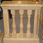 Yellow marble balustrade & handrail
