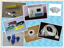 12 Leads Handheld Stress Test ECG Machine Recorder-ECG Monitor