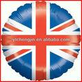 balões da folha com a bandeira