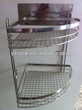 PF-BR465 glass bathroom corner shelf