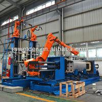 automobile fuel tank welding robot