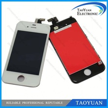 made in china economic cheap 2012 hot sale high quality for iphone accessories 4S LCD Display Touch Digitizer Black