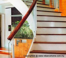 Staircase Glass, Staircase Divider, Staircase Glass Balustrades, Staircase Partition