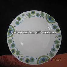 LY- S tableware set ceramic , porcelain picnic set , basket set