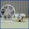 arábica bonechina jogo de chá