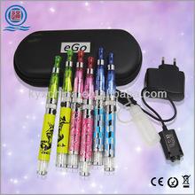 Top quality latest version ego e vaporizer kit/dia-ce4+ vaporizer diamond e ciagarette starter kit wholesale from China