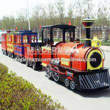 Tourist Amusement Trackless Kids Mini Train For Sale