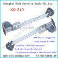 Sellos barrera para los contenedores kd-210 candado contenedor sellos