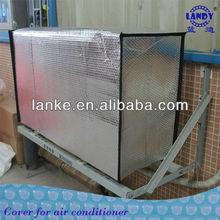 Aluminum foil bubble insulating air conditioner cover