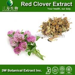 Halal&Kosher Food/Medical Grade 100% Naturarl Red Clover Flower Extract
