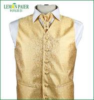 100% Polyester Men's Waistcoat