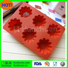flower shape silicone bakeware mould,silicone baking mold