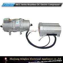 Véhicule électrique climatiseur connecté avec électrique dc voiture compresseur