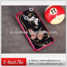 bling diamond full body cover hard case for iphone 4 4s