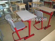 2013 wonderful design School Single Desk&Chair Furniture for middle/high/university school table/desk&chair