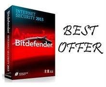 BitDefender Internet Security 2013 1 PC 1 YEAR (365 days)