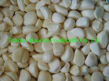 iqf frozen garlic cloves from grade A