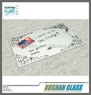 Portable Glass Magnetic Writing Board - Romantic Artwork - 40x60cm