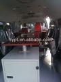 La policía del interior del coche piezas del gabinete- aleación de aluminio