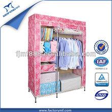 Metal Storage Clothes Cupboard Design
