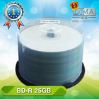 25/50gb 50pcs cake box packing blu ray
