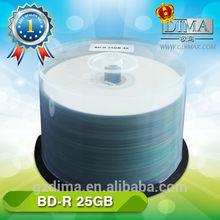 25/50gb 50pcs cake box packing blu ray