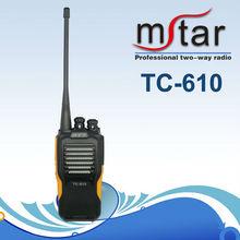 Stylish Water Protection Hytera TC-610 vhf/uhf intercom two-ways radio