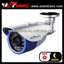 Wetrans 1/3'' SONY CCD Bullet waterproof outdoor cctv camera