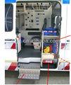 Ambulanza parti- tutta interna attrezzature con design- alluminio