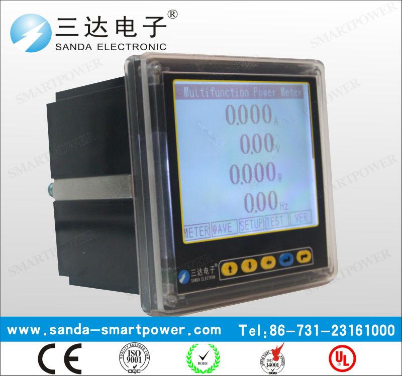 Smart Programmer LCD Panel Electronic Meter Multifunction Energy Meter