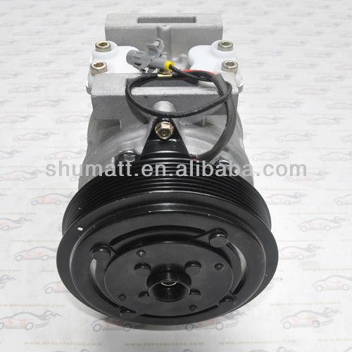 toyota coaster ac compressor Denso 10P30C compressor 7PK pulley clutch Denso 10P30C for toyota coaster