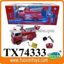 Motore di automobile del rc, camion gru rc, radiocomando camion dei pompieri