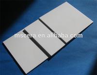 Heat resistant ceramic alumina plate