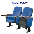 Fm-57 usado preço barato theater cadeira igreja com armação de plástico