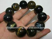 Natural blue tiger eye stone caved bracelet crystal mix natural stone bracelet,Artistic crystal gift