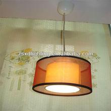 E27 LED drop light (Fabrics lamp shade)