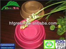 FACTORY SALE Bamboo fiber Pet Bowl/ Dog Bowl/ Pet Dishes