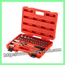 """Auto tools 32PCS Hand Tool socket Set 1/2"""" 12-PT multi tool sets"""