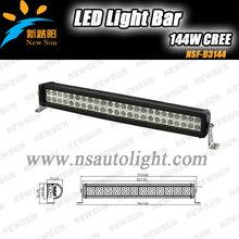 20'' 144W Led off road SUV J eep off road Truck ATV High Power Light Bar Work Lamp White FLOOD BEAM Lights