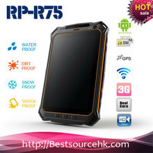RK3066 dual core /Android 4.0.4/ 7 inch IPS/esolution 1280*800 display/capacitive 5 touch glass/IP65 waterproof rugged tablet PC