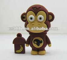 Cartoon Series of monkey USB for promotion present,electronic novelties,trinket