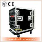 2014 ST New Design 14U 19 Inch Deepth Pro Amp Combo Rack Flight Case With Caster Wheels
