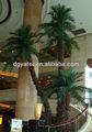 Hot Sale Artificial fibra de vidro palmeira